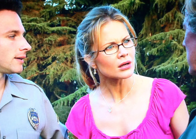 Josie Davis and Mark Famiglietti in Stealing Roses