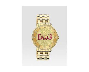 Dolce and Gabbana watch